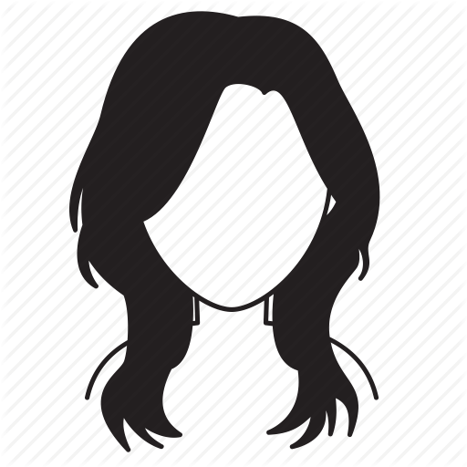 hairstyle icon at getdrawings