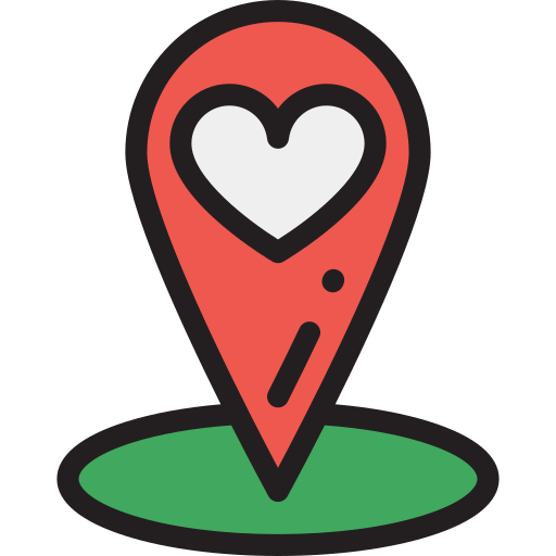 map marker icon at