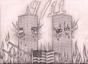 drawing york twin tribute mikrut towers jason drawings tower nyc 11th getdrawings uploaded november which america