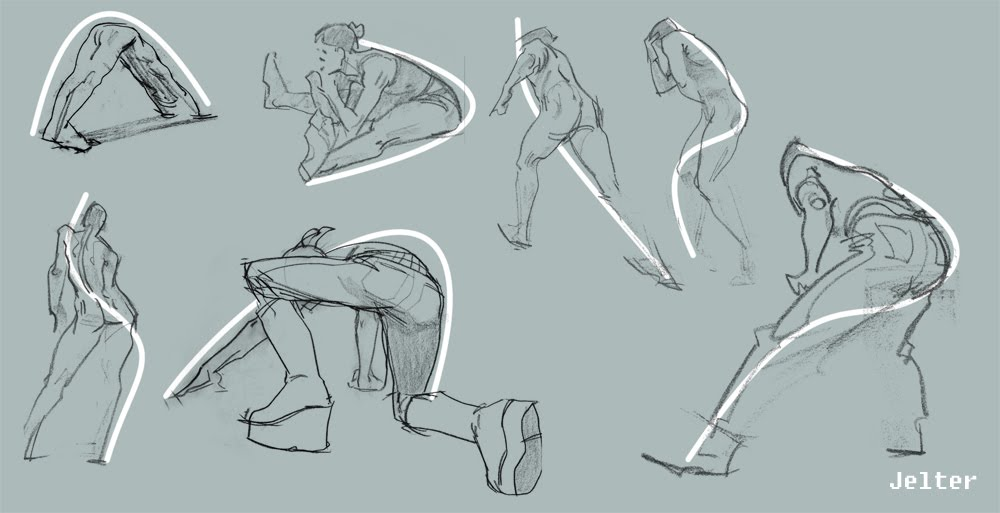 Male sculpt in running/punching/maybekicking pose — polycount