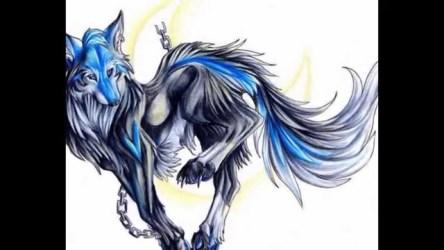 wolf anime drawings drawing animated getdrawings