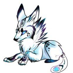 anime drawing wolf drawings cool easy wolves getdrawings