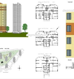 1080x760 apartment autocad plans free cad drawings download [ 1080 x 760 Pixel ]