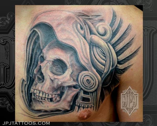 Aztec Skull Drawing Free Personal