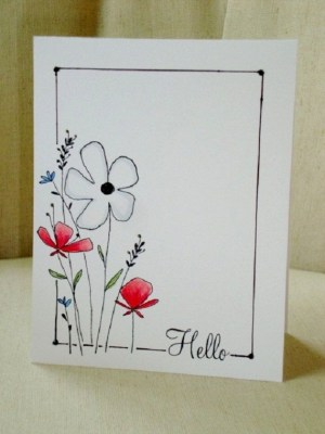 birthday drawing cards card happy homemade getdrawings