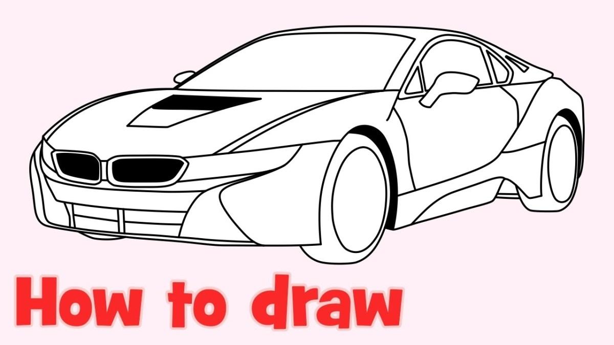 Bmw Car Drawing at GetDrawings | Free download