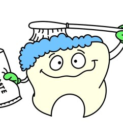 1280x720 how to draw brushing teeth baby brushing his teeth coloring [ 1280 x 720 Pixel ]