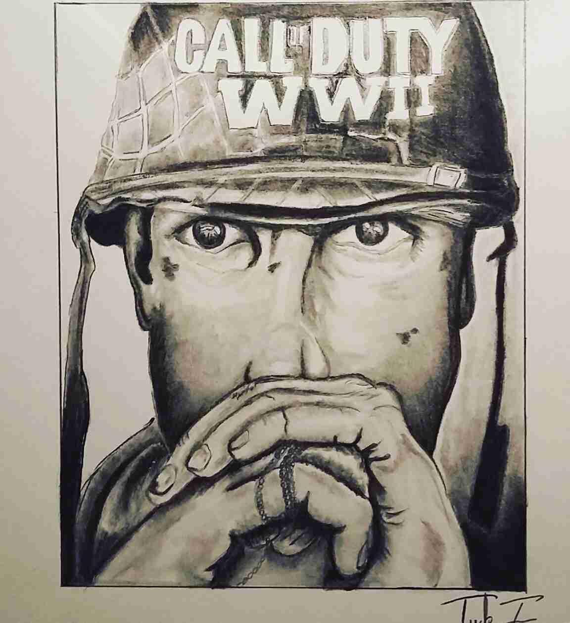 Call Of Duty Drawing At Getdrawings
