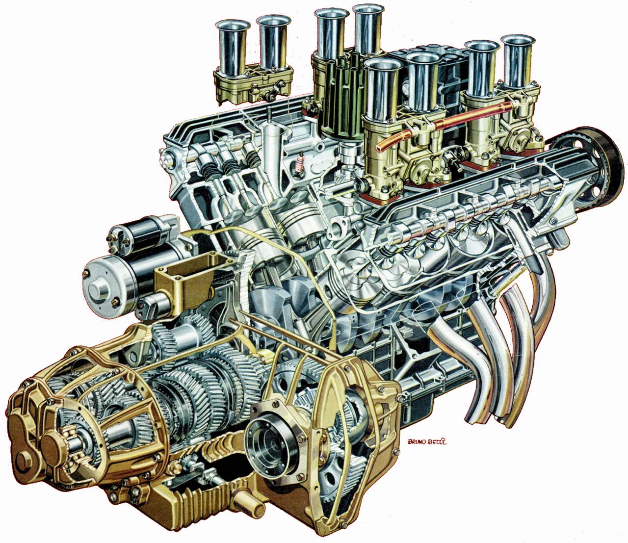 hight resolution of 1280x1107 v8 engine cutaway illustration race engines amp cutaways