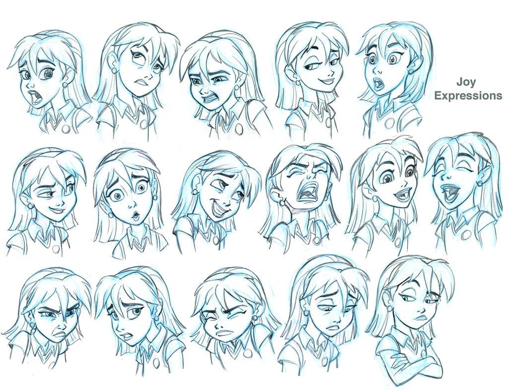 Cartoon Expressions Drawing At Getdrawings
