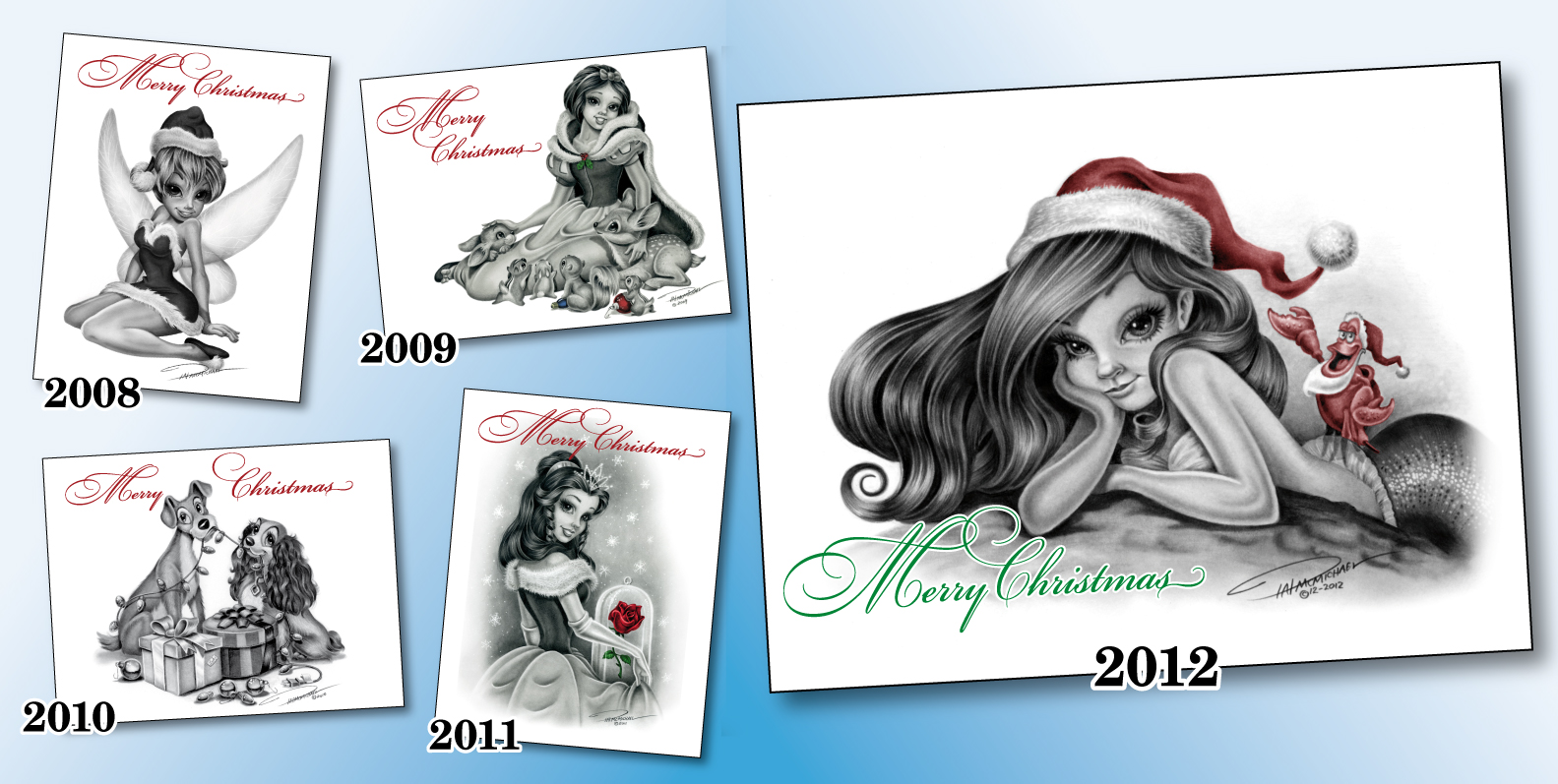 Christmas Cards Drawing At Free For
