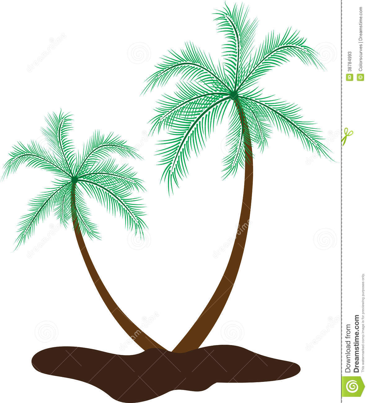 hight resolution of 1190x1300 coconut tree images hd for drawing coconut tree stock vector