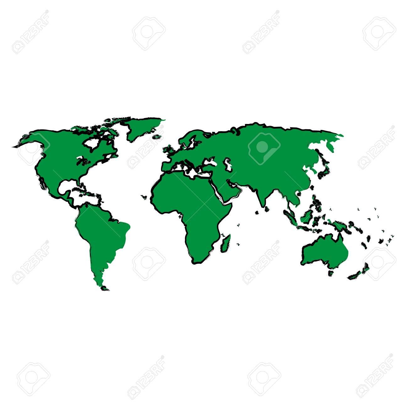 Continent Drawing At Getdrawings