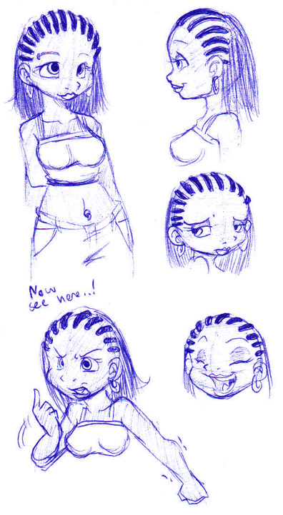How To Draw Cornrows : cornrows, Cornrows, Drawing, GetDrawings, Download