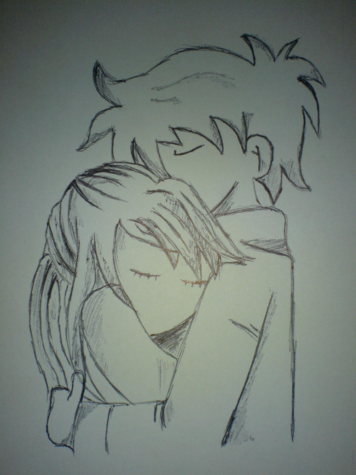 Boy And Girl Drawing : drawing, Drawing, GetDrawings, Download