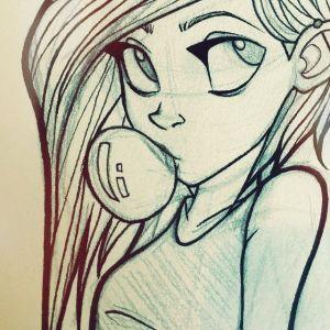 cartoon drawing sketch getdrawings