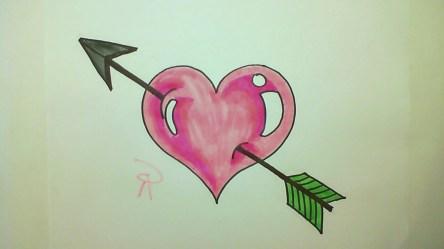 drawings cute heart boyfriend drawing draw sketches getdrawings paintingvalley