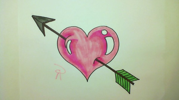 Cute Heart Drawing Free Personal