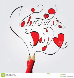 valentines drawing pencil draw illustration quotes wishes getdrawings vector