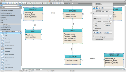 small resolution of 1440x823 er diagram programs for mac professional erd drawing