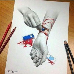sad drawings drawing meaningful deep depressing trippy emotional getdrawings cool sketches pain aesthetic alone edgar feel things stories short social