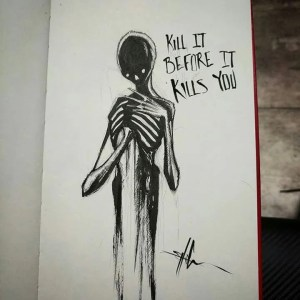 creepy drawings sketches dark drawing scary depression emotional depressing cool tattoo shawn coss depressed spooky kills kill before getdrawings sketchbook