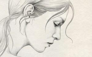 depression drawing drawings easy pencil sketch getdrawings