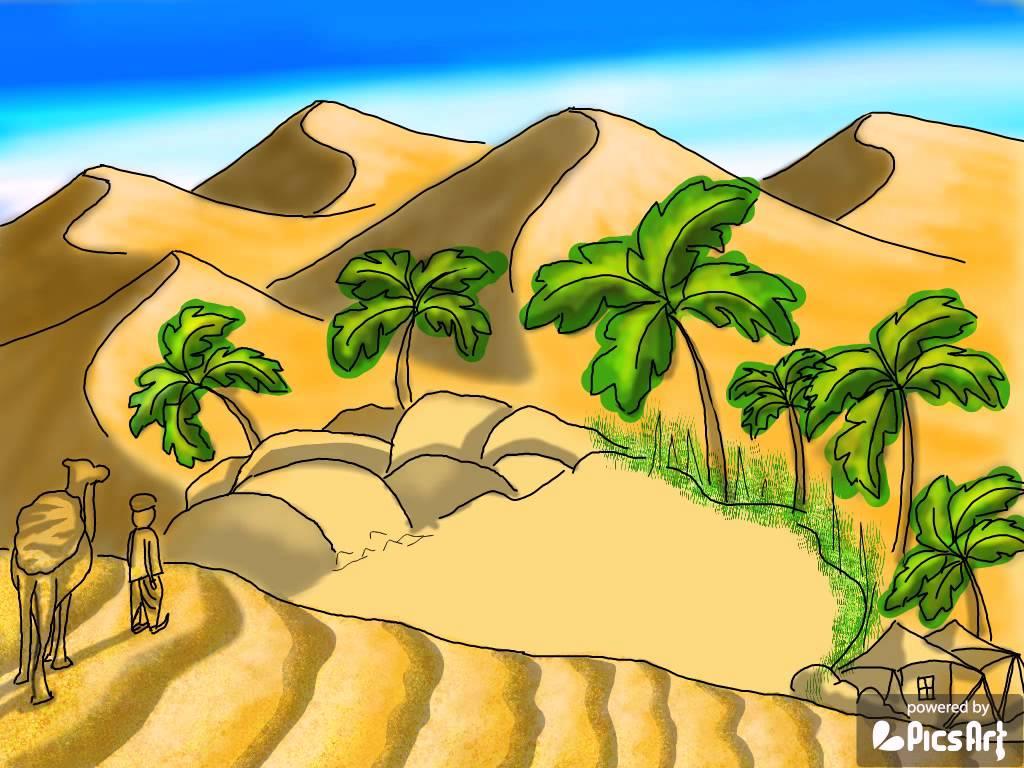 Desert Drawing For Kids At Getdrawings