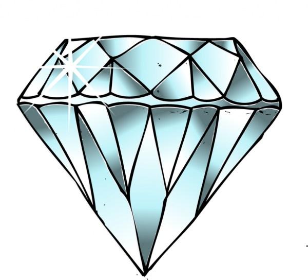 diamonds drawing
