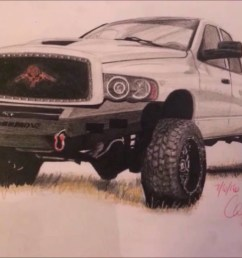 1280x720 dodge ram time lapse drawing [ 1280 x 720 Pixel ]