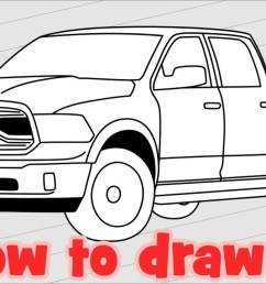 1280x720 how to draw truck dodge ram 1500 [ 1280 x 720 Pixel ]