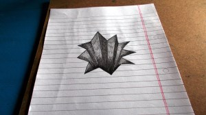 3d cool easy drawings drawing sketches unique getdrawings