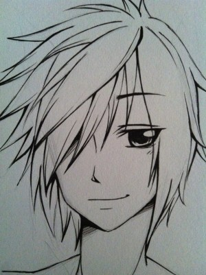 anime boy easy drawing simple guy sketch boys sketches manga drawings draw guys getdrawings deviantart favourites