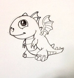 dragon easy drawing draw simple chinese fire dragons drawings dragonvale spee basic getdrawings beginners coloring open