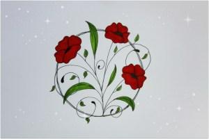 flowers easy flower draw drawing getdrawings