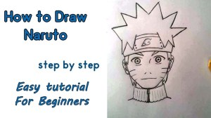 naruto drawing draw step easy anime beginners getdrawings pencil