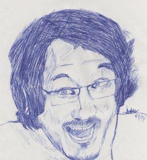 pen drawings easy drawing sketch simple markiplier sketches getdrawings paintingvalley deviantart