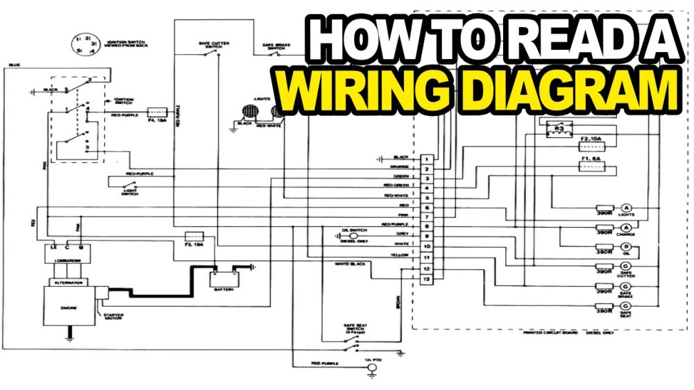 medium resolution of 1280x720 how to read an electrical wiring diagram