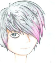 emo drawing easy