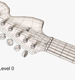 1480x800 3d model fender stratocaster electric guitar cgtrader [ 1480 x 800 Pixel ]