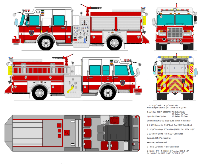 Pinewood Derby Car Fire Truck Template Save Template