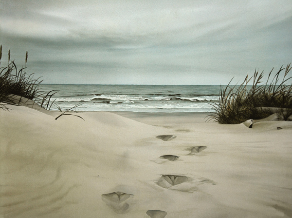 Image result for two sets of footprints in sand Pinterest