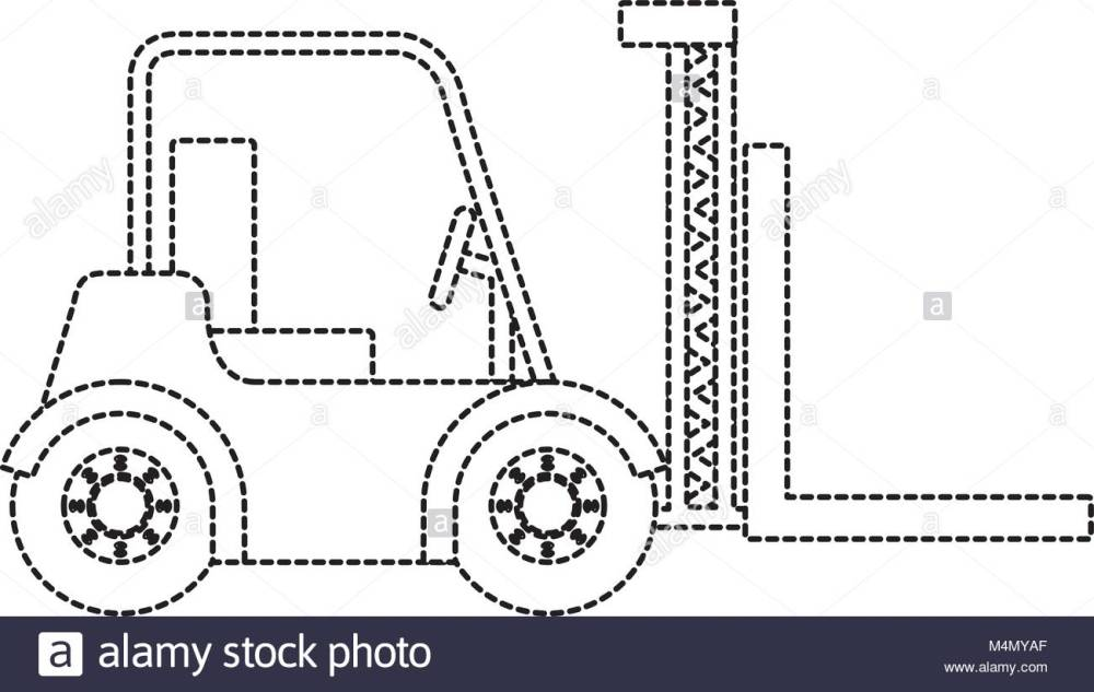 medium resolution of 1300x823 forklift black and white stock photos amp images