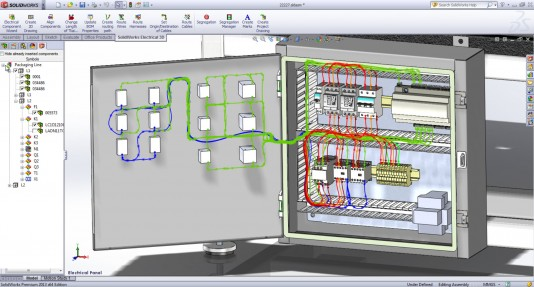 free circuit diagram drawing software ford focus radio wiring 2007 electrical at getdrawings com for personal use 534x287 solidworks takes on autocad part 2
