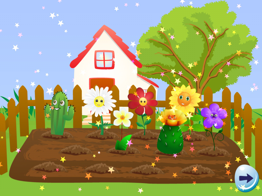 Garden Drawing For Kid At Getdrawings