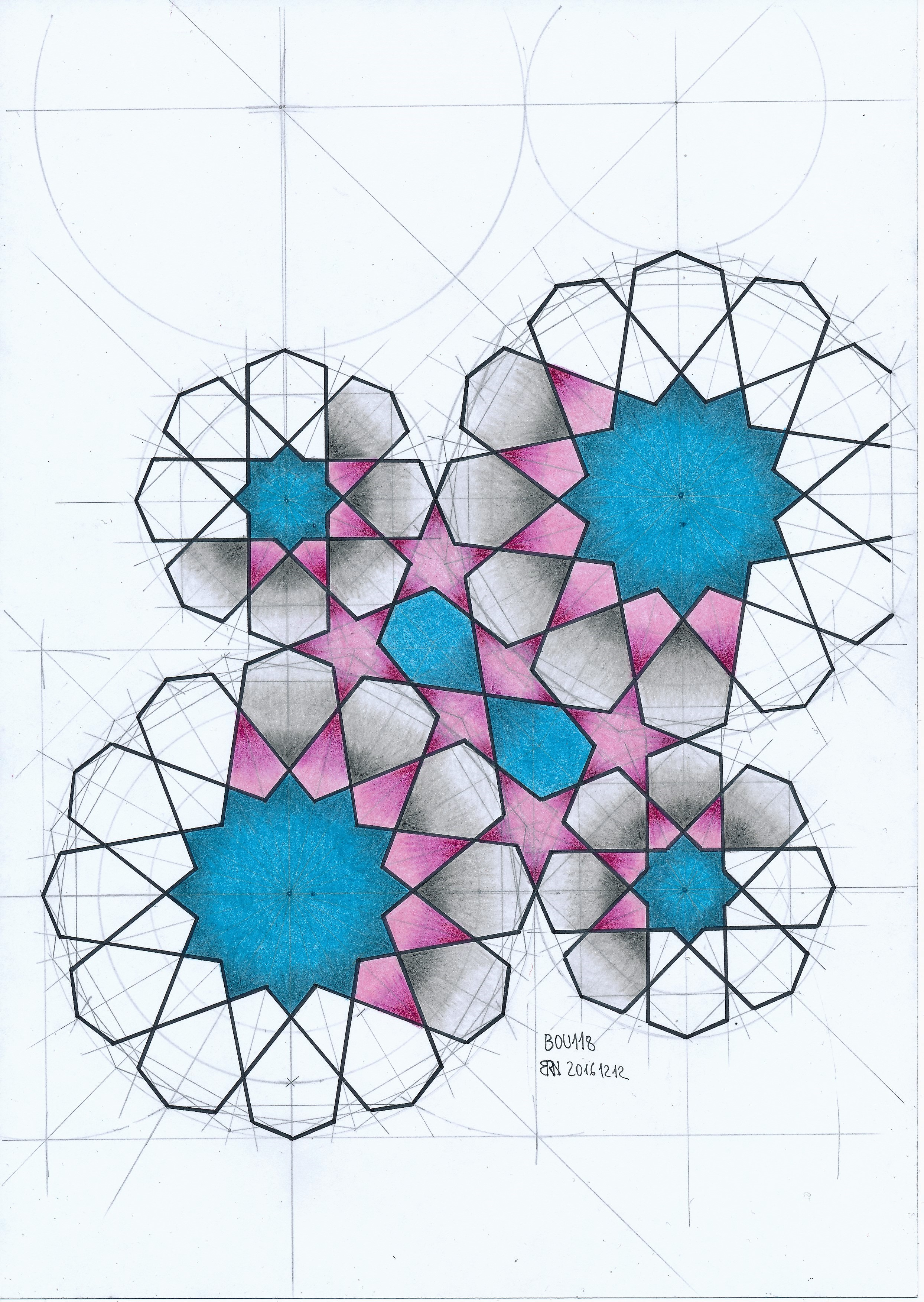 Geometric Patterns Drawing At Getdrawings