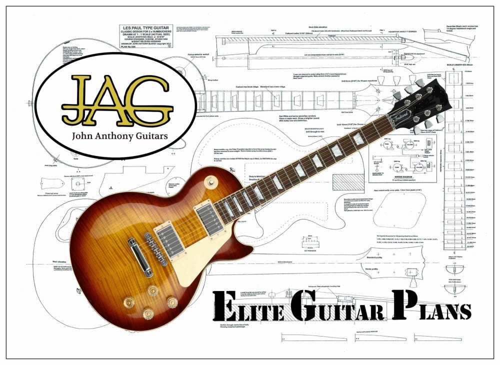 medium resolution of 3505x2560 plans to build a gibson les paul guitar