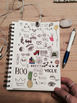 easy drawing doodles doodle simple aesthetic grunge journal drawings notebook draw things quotes sketches dibujos hipster journals getdrawings discover bullet