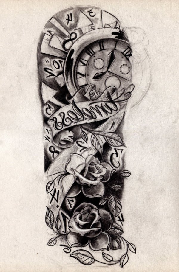 sleeve tattoo drawing design
