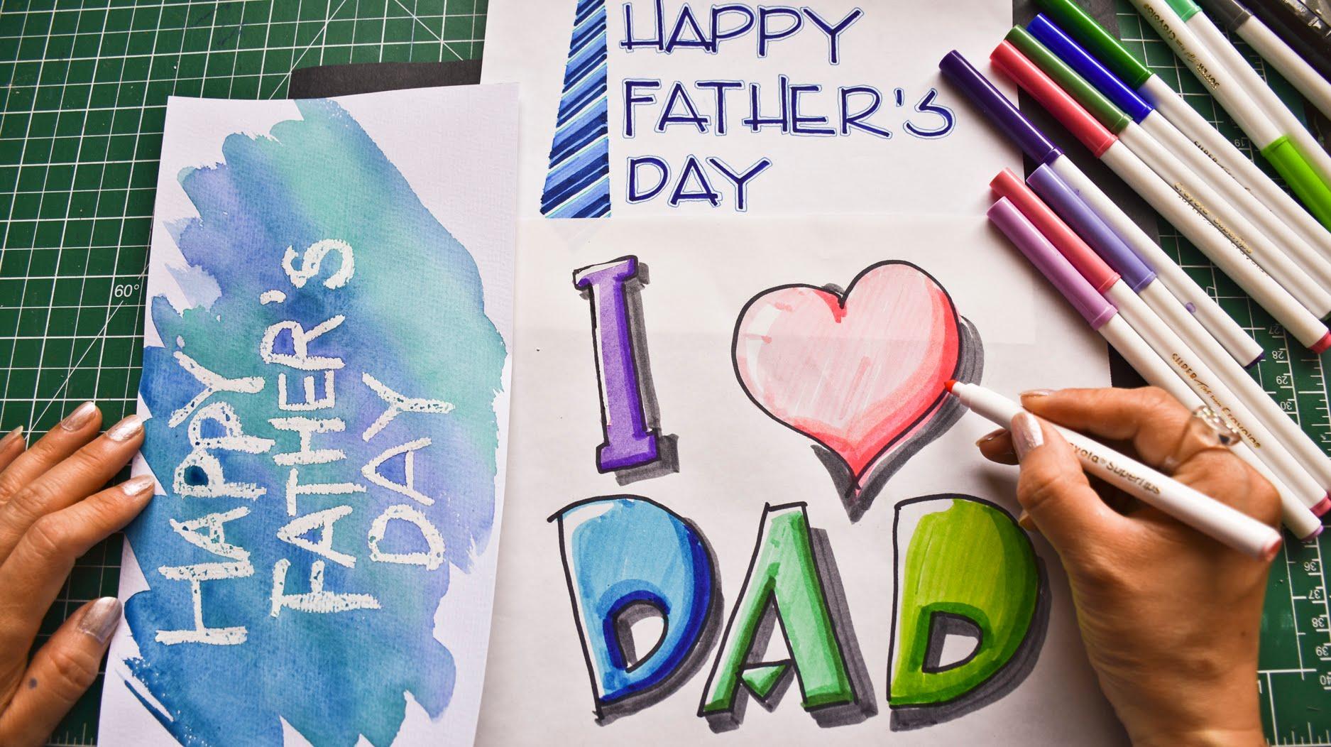 Happy Birthday Dad Drawing At Getdrawings